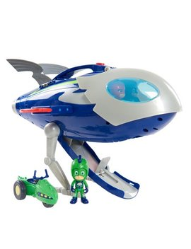 Pj Masks Super Moon Adventure Hq Rocket Playset by Pj Masks