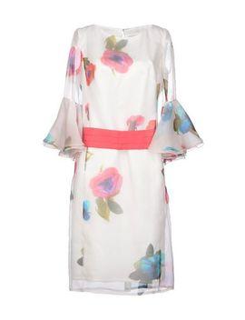 Maria Coca Knee Length Dress   Dresses by Maria Coca