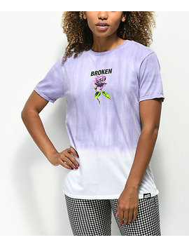 broken-promises-thornless-purple-dip-dye-t-shirt by broken-promises