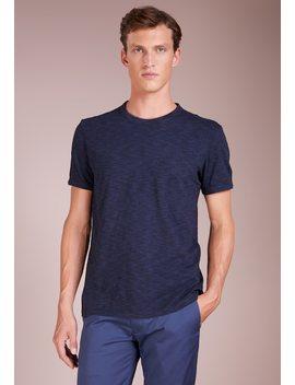 Optic Slub Crew   T Shirt Basic by Club Monaco