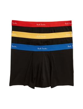 3 Pack Assorted Square Cut Trunks by Paul Smith
