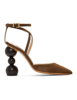 Brown 'les Chaussures Camil' Heels by Jacquemus