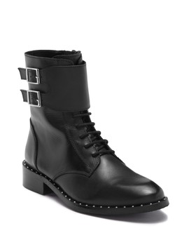 Rebel Lace Buckle Boot by Catherine Catherine Malandrino