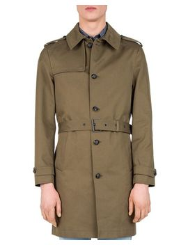 Gabardine Trench Coat by The Kooples