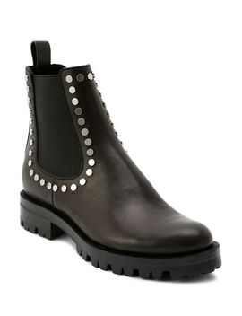 Women's Peton Studded Leather Chelsea Booties by Dolce Vita