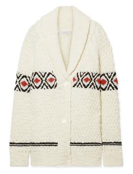 oversized-intarsia-wool-cardigan by philosophy-di-lorenzo-serafini