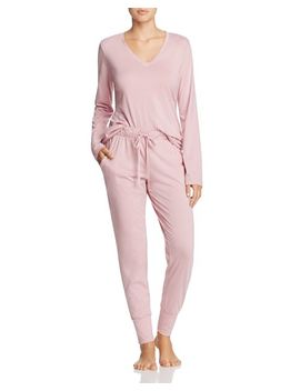 V Neck Long Pj Set   100 Percents Exclusive by Cosabella