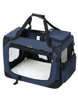 Songmics Hundebox Transportbox Faltbar Oxford Gewebe S Xl by Amazon