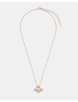 Trio Star Pendant by Ted Baker