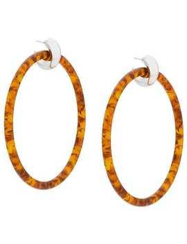 Balenciaga Large Hoop Earringshome Women Balenciaga Jewelry Earrings by Balenciaga