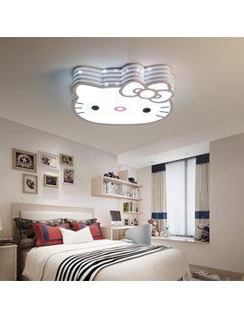Led Cartoon Ceiling Lights Lovely Children's Bedroom Hello Kitty Kindergarten by Veayas
