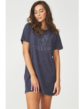 Boxy Tshirt Nightie by Cotton On