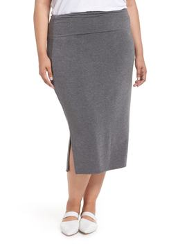Off Duty Knit Skirt by Caslon®