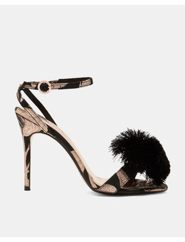 Pom Pom Printed Sandals by Ted Baker