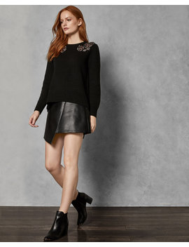 Embellished Shoulder Jumper by Ted Baker
