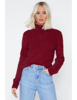 Touch And Go Fluffy Sweater by Nasty Gal