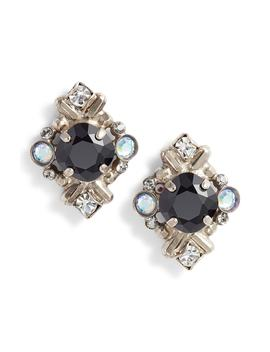 Shielded Crystal Stud Earrings by Sorrelli
