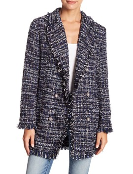 Frayed Tweed Jacket by Fate