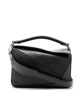 Puzzle Leather Shoulder Bag by Loewe