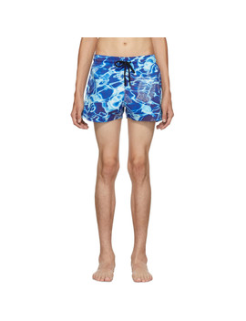 Blue Man Splash Swim Shorts by Vilebrequin