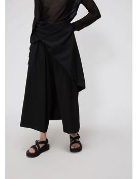 Detachable Front Pant by Yohji Yamamoto