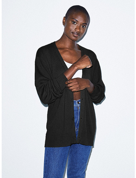 Unisex Basic Knit Cardigan by American Apparel