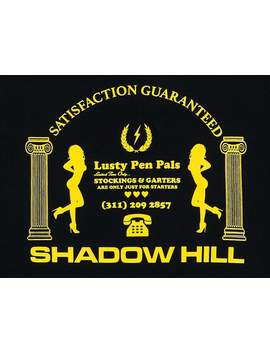 Black Call Girls T Shirt by Shadow Hill