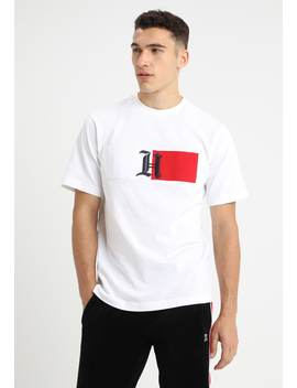 Lewis Hamilton Flag Logo Tee   T Shirt Print by Tommy Hilfiger