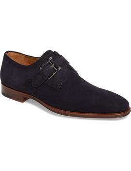Enrique Monk Strap Shoe by Magnanni