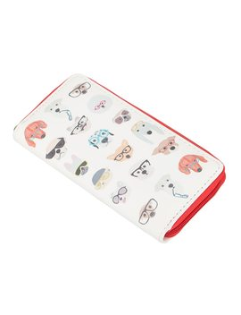 Sansarya 3 Colors 2018 New Fashion Ladies Card Holder Cartoon Lovely Cute Dog Print Women Wallets Long Female Purse Teenage Girl by Sansarya