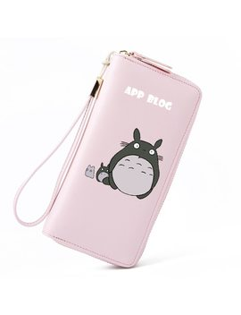 App Blog Long Cute Cartoon Totoro Wallet Bag Coin Purse 2018 New Fashion Fresh Women Girl Clutch Student Femme Lovely Wallets by App Blog