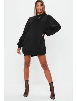 Playboy X Missguided Black Diamante Sweater Dress by Missguided