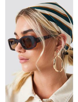 Retro Rectangular Sunglasses by Na Kd Accessories