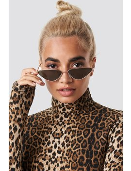 Nina Groer Metal Cateye Sunglasses by Statement By Na Kd Influencers