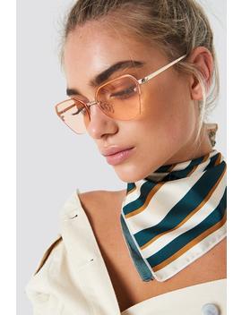 Angular Metal Cat Eye Sunglasses by Na Kd Accessories