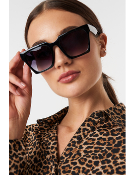 Oversize Squared Sunglasses by Na Kd Accessories