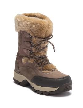 St. Moritz 200 Ii Faux Fur Trim Boot by Hi Tec