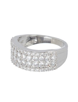 Pave Cz Quad Row Ring by Nordstrom Rack