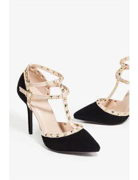 I Adore My Studs Heel by A'gaci