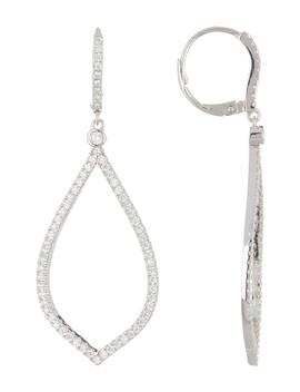 Pave Cz Large Teardrop Dangle Earrings by Nordstrom Rack