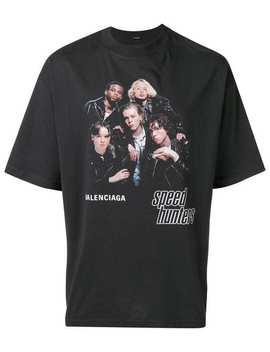 Balenciaga Speedhunters Boyband Printed T Shirthome Men Balenciaga Clothing T Shirts by Balenciaga