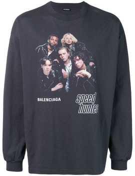 Balenciaga Speedhunters Boyband Jersey Tophome Men Balenciaga Clothing T Shirts by Balenciaga