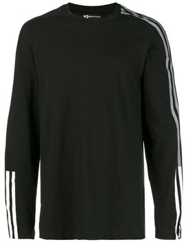Y 3long Sleeved T Shirthome Men Y 3 Clothing T Shirts by Y 3