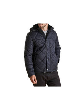 Barbour Land Rover Defender Holbmy Quilted Jacket, Navy by Barbour
