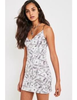 Urban Renewal Vintage Remnants Dollar Cowl Dress by Urban Renewal Vintage Shoppen