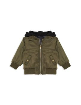 Boys' Satin Tiger Bomber Jacket   Baby by Bardot Junior