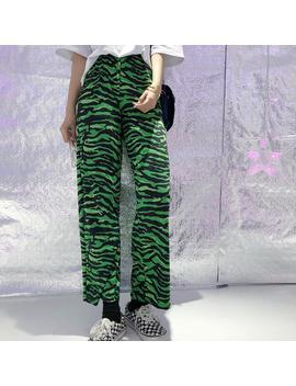 Green Zebra Pants by Dog Dog