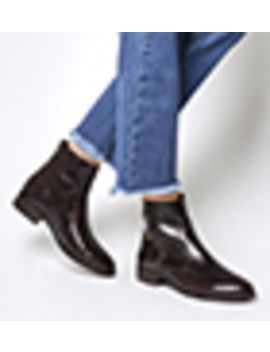 Actor Side Zip Flat Ankle Boots by Office