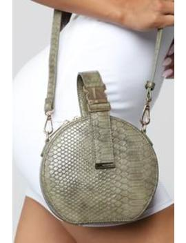 Turn The Dile Crossbody Bag   Olive by Fashion Nova