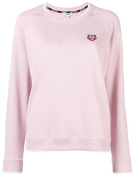 Kenzotiger Crest Sweaterhome Women Kenzo Clothing Knitted Sweaters by Kenzo